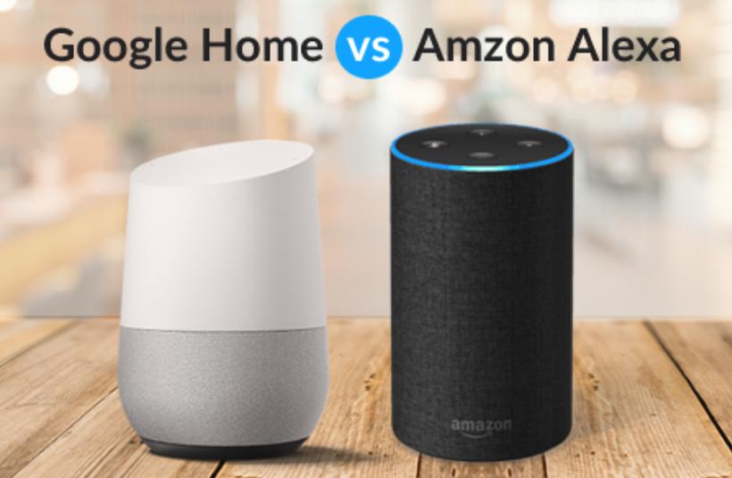 Amazon Echo e Google Home